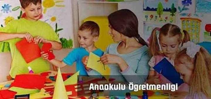 anaokulu ogretmenligi
